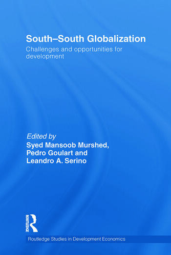 South-South Globalization Challenges and Opportunities for Development book cover