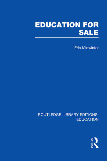 Education for Sale book cover