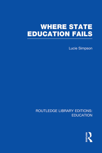 Where State Education Fails book cover