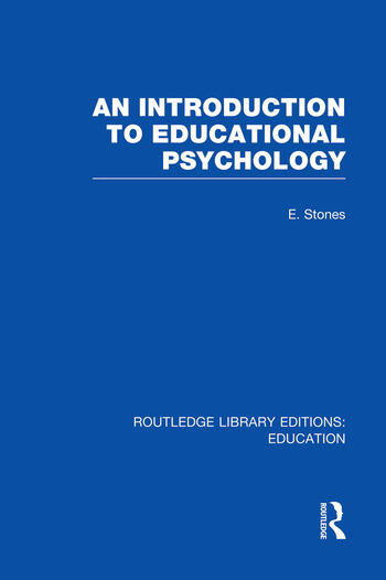 An Introduction to Educational Psychology book cover