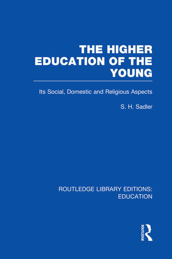 The Higher Education of the Young book cover