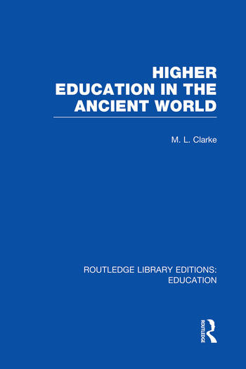 Higher Education in the Ancient World book cover