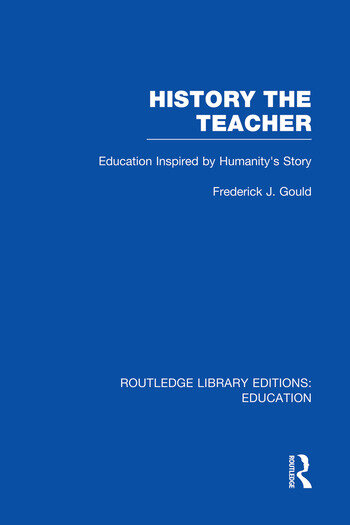 History The Teacher Education Inspired by Humanity's Story book cover
