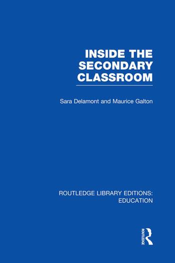 Inside the Secondary Classroom (RLE Edu O) book cover