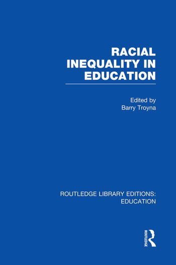 Racial Inequality in Education book cover