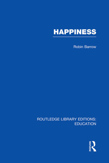 Happiness (RLE Edu K) book cover