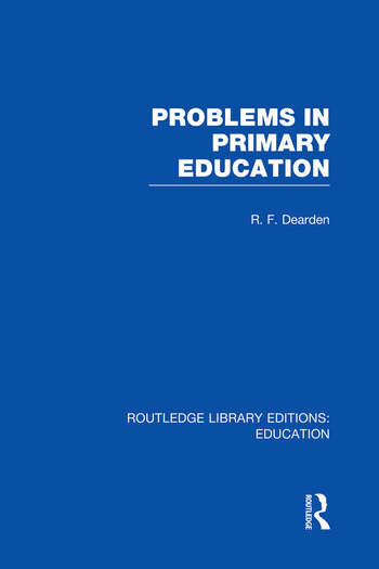 Problems in Primary Education (RLE Edu K) book cover