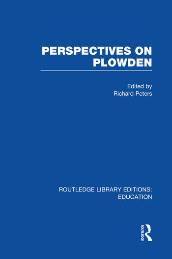 Perspectives on Plowden (RLE Edu K) book cover