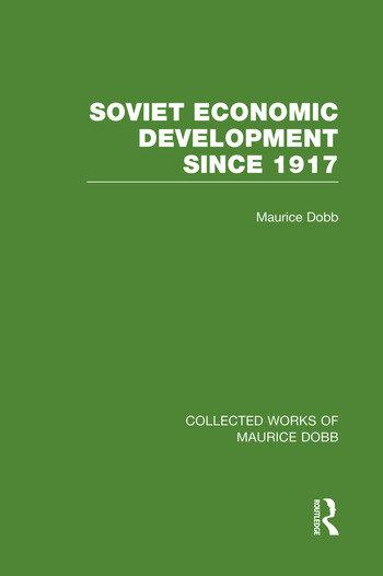 Soviet Economic Development Since 1917 book cover