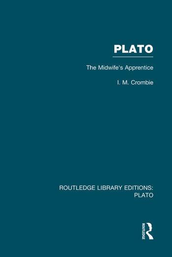 Plato: The Midwife's Apprentice (RLE: Plato) book cover
