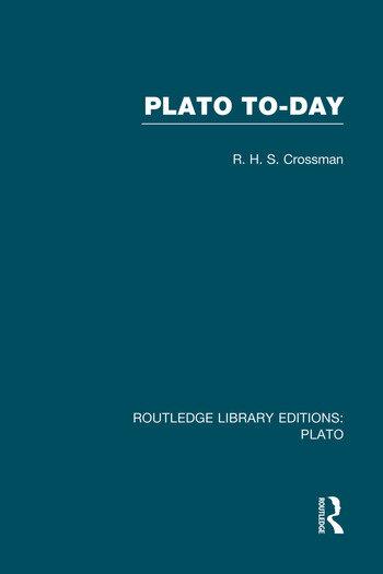 Plato Today (RLE: Plato) book cover