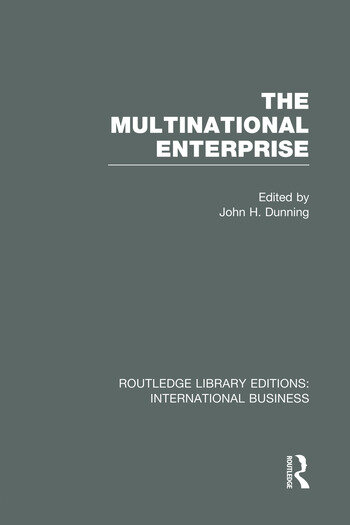 The Multinational Enterprise (RLE International Business) book cover