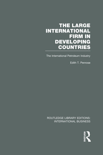 The Large International Firm (RLE International Business) book cover