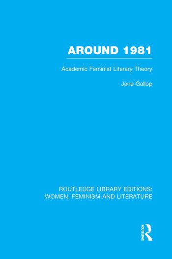 Around 1981 Academic Feminist Literary Theory book cover