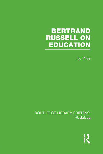 Bertrand Russell On Education book cover