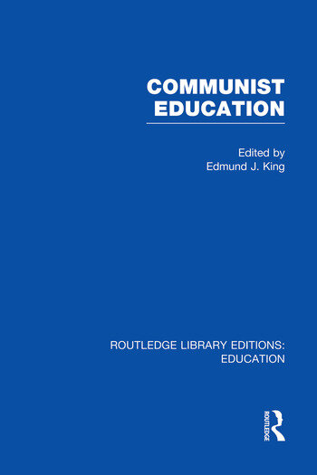 Communist Education book cover
