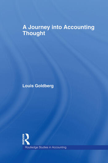 A Journey into Accounting Thought book cover