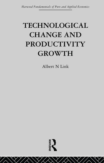 Technological Change & Productivity Growth book cover