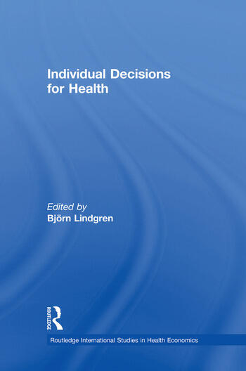 Individual Decisions for Health book cover