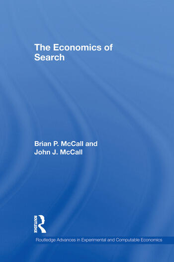 The Economics of Search book cover