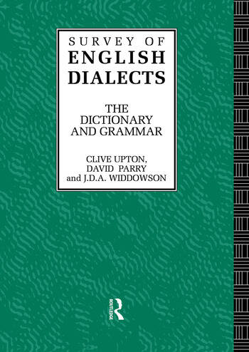 Survey of English Dialects book cover