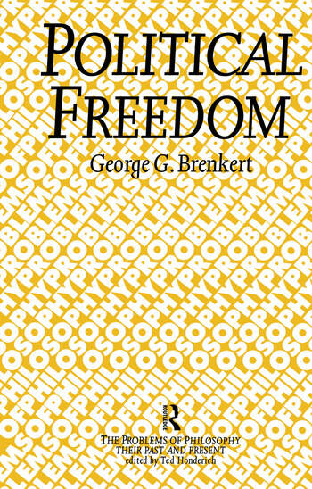 Political Freedom book cover