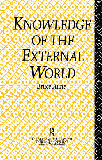 Knowledge of the External World book cover