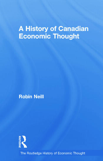 A History of Canadian Economic Thought book cover