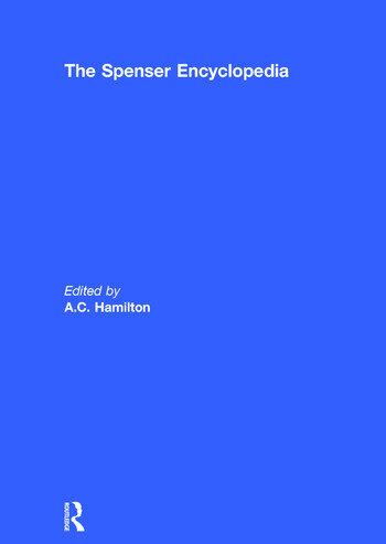 The Spenser Encyclopedia book cover