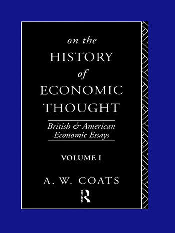 On the History of Economic Thought book cover