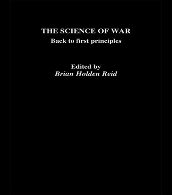 The Science of War Back to First Principles book cover
