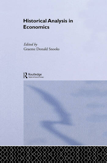 Historical Analysis in Economics book cover