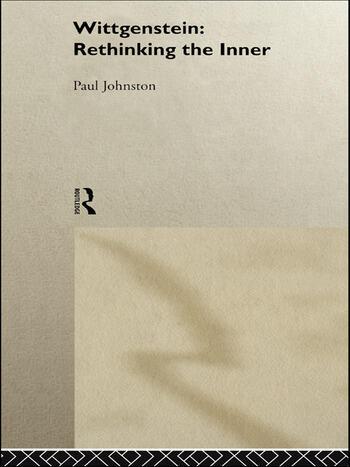 Wittgenstein: Rethinking the Inner book cover