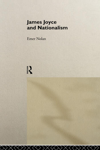 James Joyce and Nationalism book cover