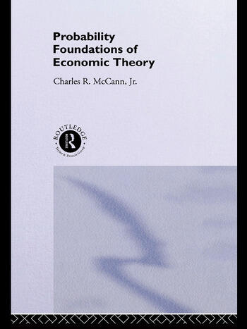 Probability Foundations of Economic Theory book cover