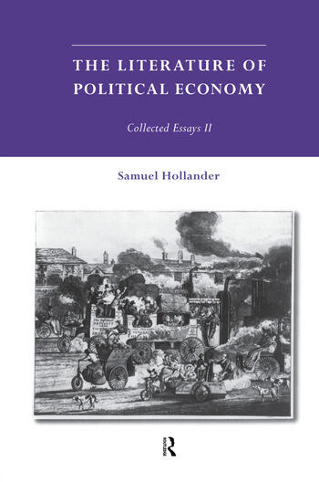 The Literature of Political Economy Collected Essays II book cover