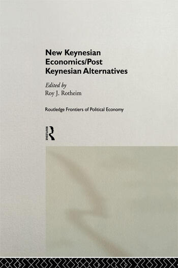 a study of post keynesian economic Mainstream economic theory has been increasingly questioned following the recent global financial crisis marc lavoie shows how post-keynesian theory can function as a coherent substitute by focusing on realistic assumptions and integrating the financial and real sides of the economy.