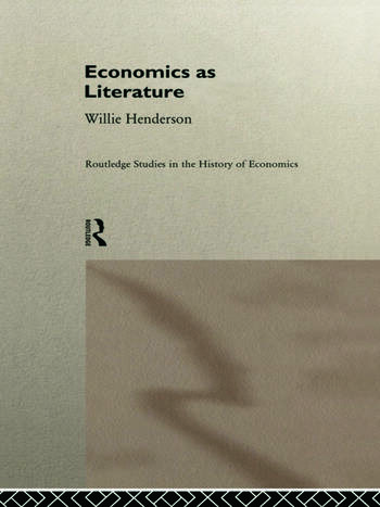 Economics as Literature book cover
