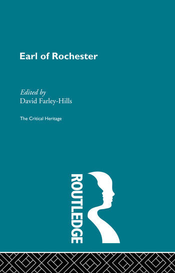 Earl of Rochester The Critical Heritage book cover