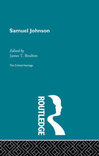 Samuel Johnson The Critical Heritage book cover