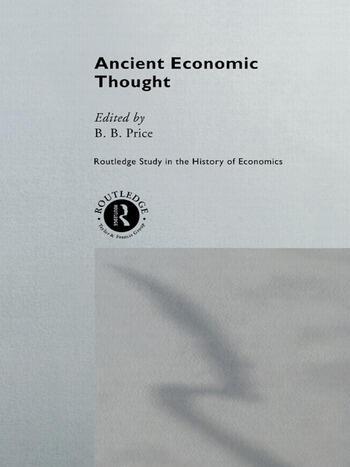 Ancient Economic Thought book cover