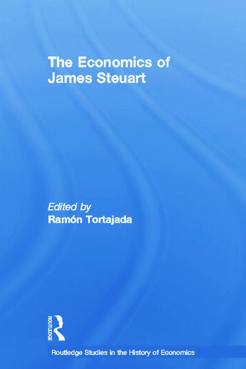 The Economics of James Steuart book cover