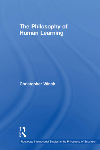 The Philosophy of Human Learning book cover