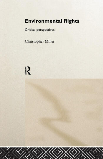 Environmental Rights Critical Perspectives book cover