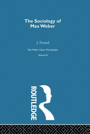 Sociology Max Weber V 3 book cover