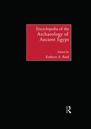 Encyclopedia of the Archaeology of Ancient Egypt book cover