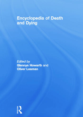 Encyclopedia of Death and Dying book cover