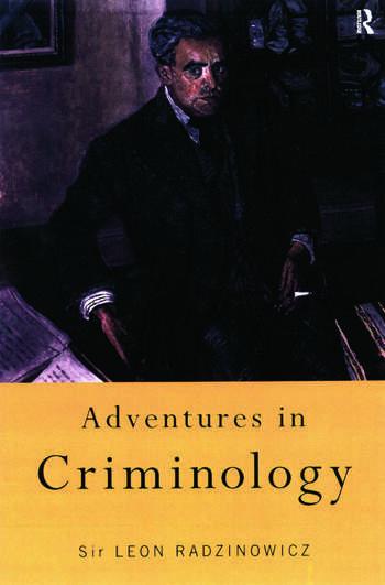Adventures in Criminology book cover