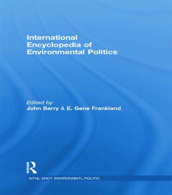 International Encyclopedia of Environmental Politics book cover