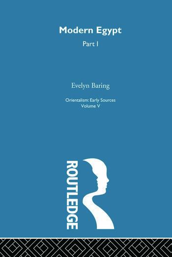 Mod Egypt Pt1:Orientalism V 5 book cover